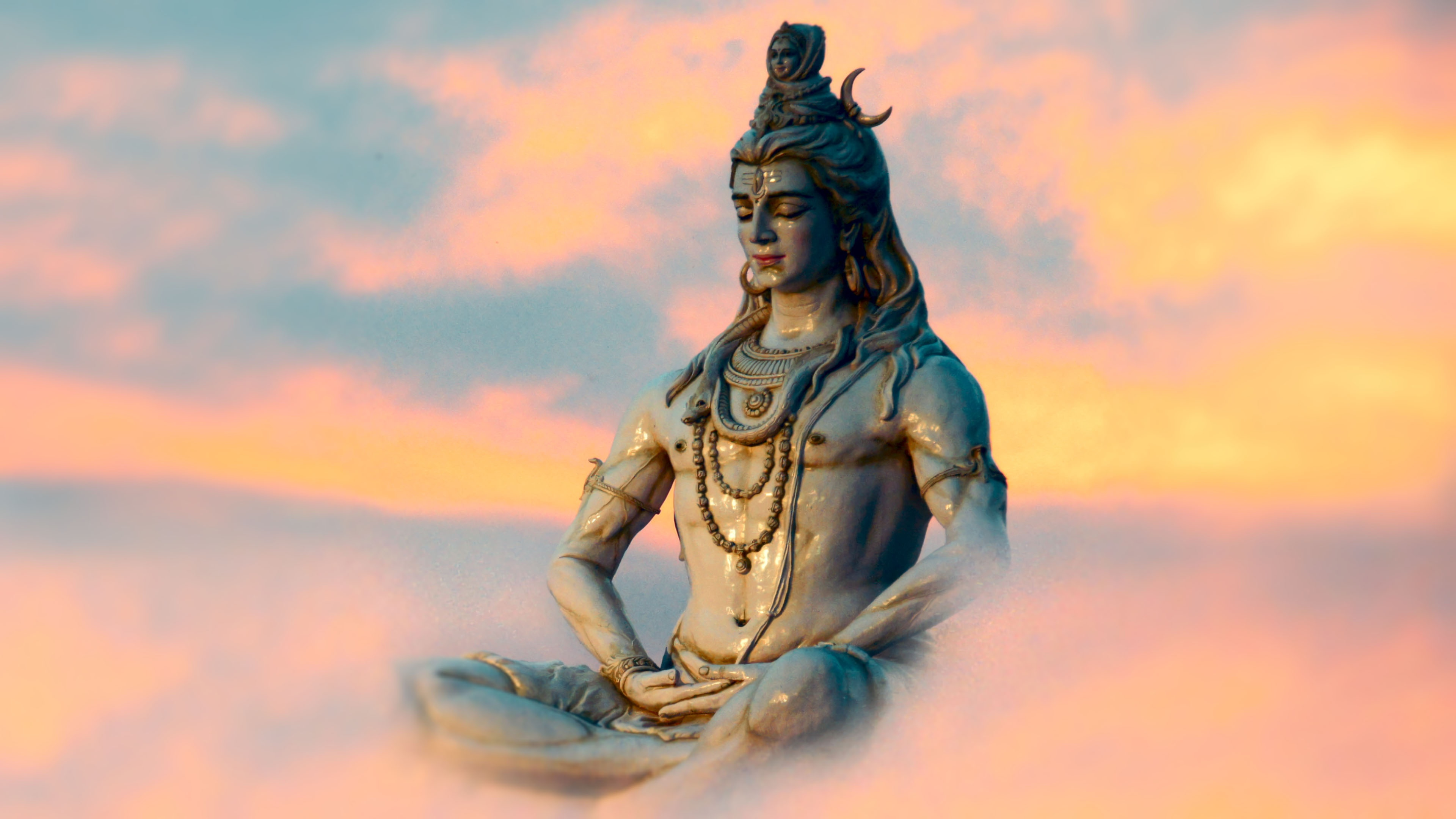 Lord Shiva HD Wallpapers   WordZz Lord Shiva Meditating 4K Wallpaper