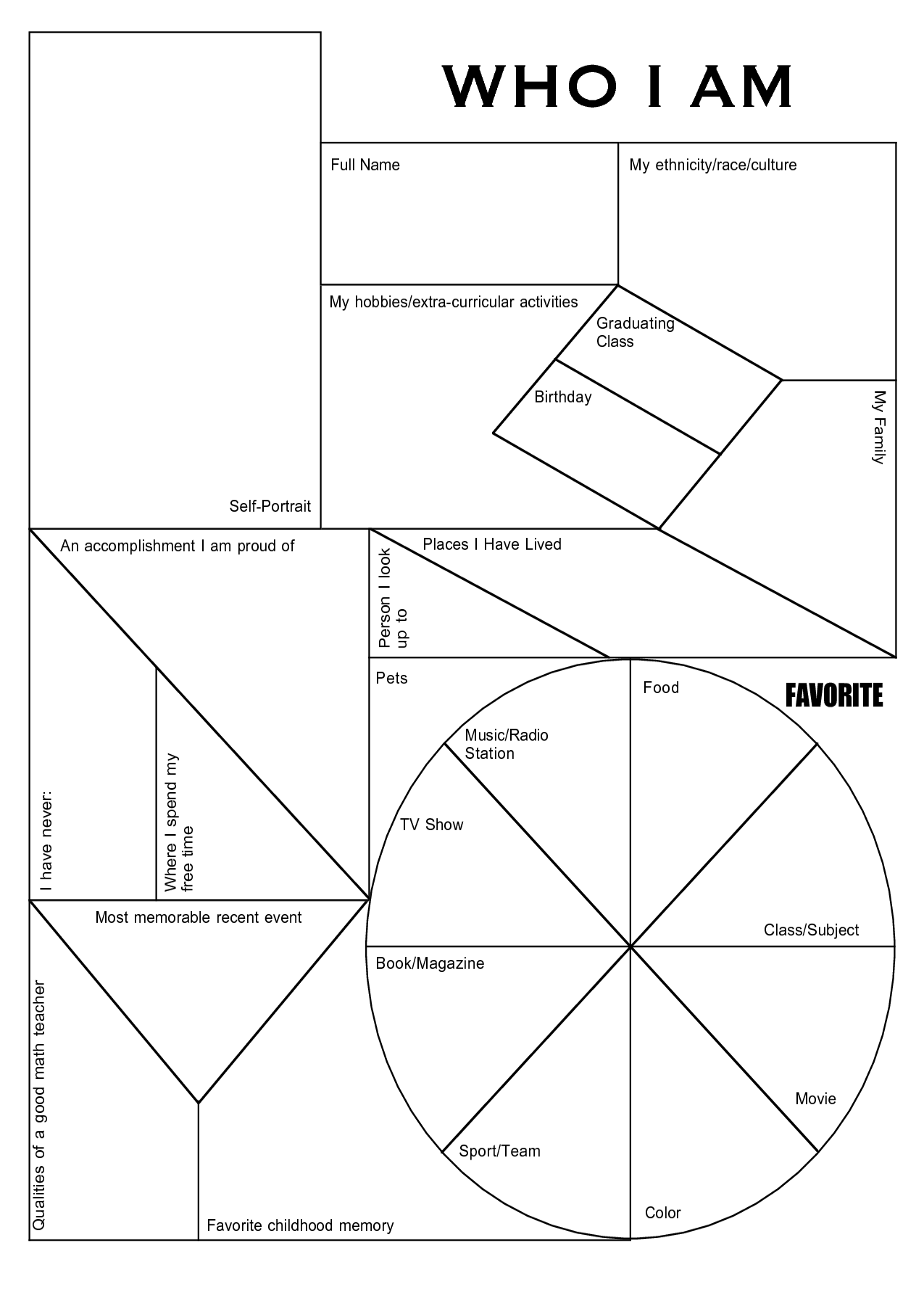 Printable High School Student Survey