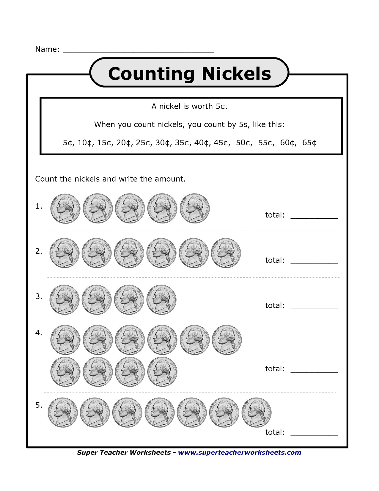 Worksheets Counting Nickels Worksheet counting nickels and pennies worksheet free worksheets library photo m ey th col g p ge im ges e ster egg hunt me