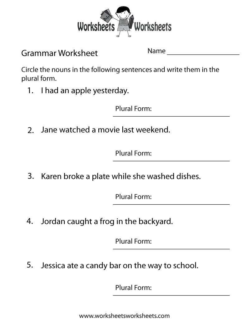 Worksheet Grammar Worksheets Adults Carlos Lomas Worksheet For