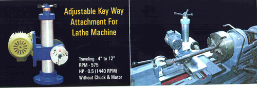 Keyway Attchments For Lathe Lathe Machine Supplier