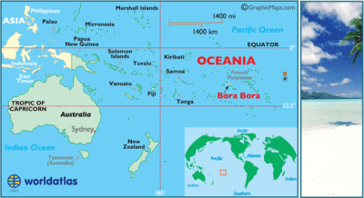 Bora Bora Map / Geography of Bora Bora/ Map of Bora Bora ...