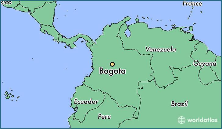 Map Us Including Bermuda