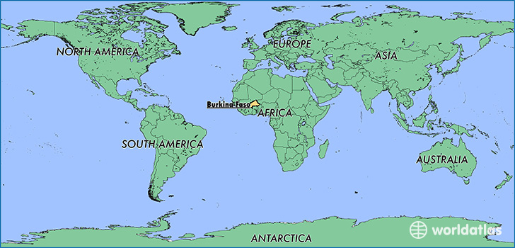Benin World Map Location