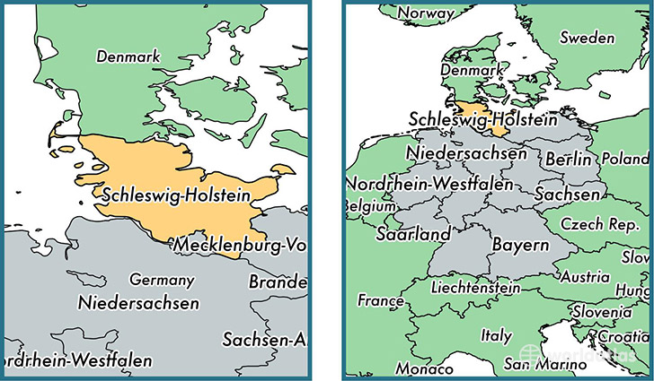 Middle Map Holstein East