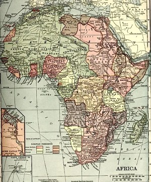 Africa Map   Map of Africa   Worldatlas com 1910 Map of the Colonization of Africa