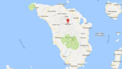 Map of Mindoro