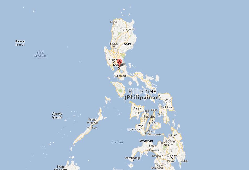 Quezon Map Streets City