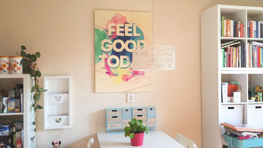 pixers canvas wanddecoratie feel good in mijn huiskamer Pixers d     wand en muurdecoratie
