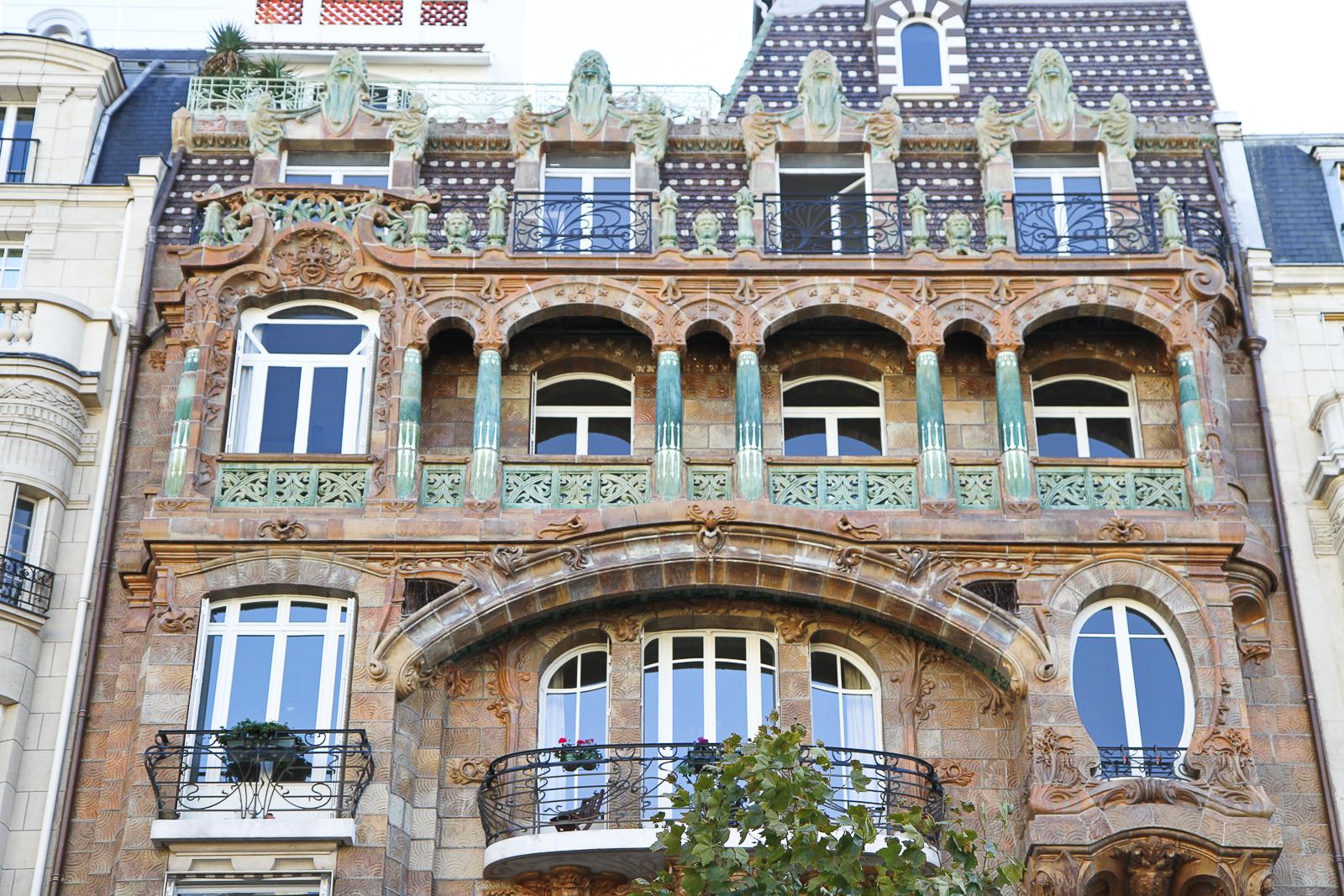 Best Kitchen Gallery: A Guide To Art Nouveau In Paris World Of Wanderlust of Art Nouveau Architecture on rachelxblog.com