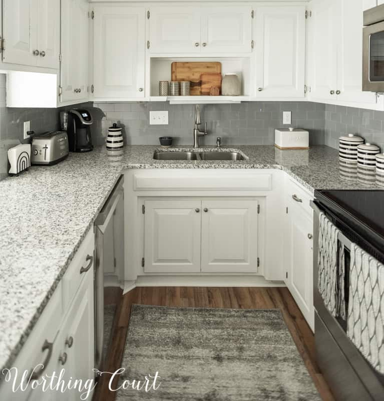 Small White Galley Kitchens
