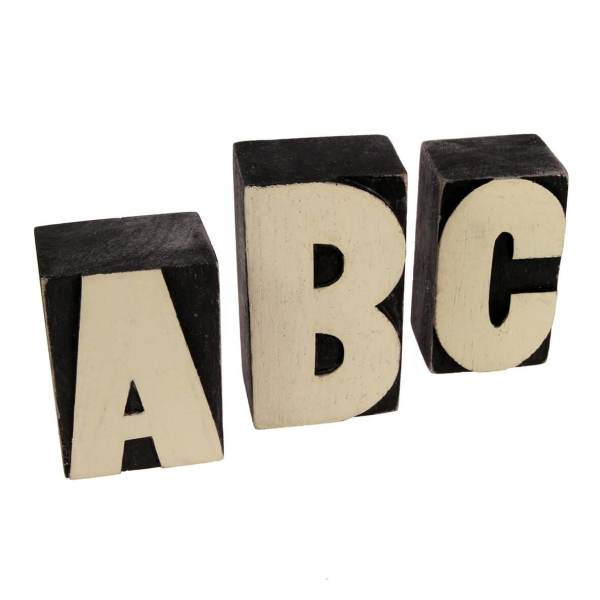 Wooden Block Letters   A to Z   Wow Vow