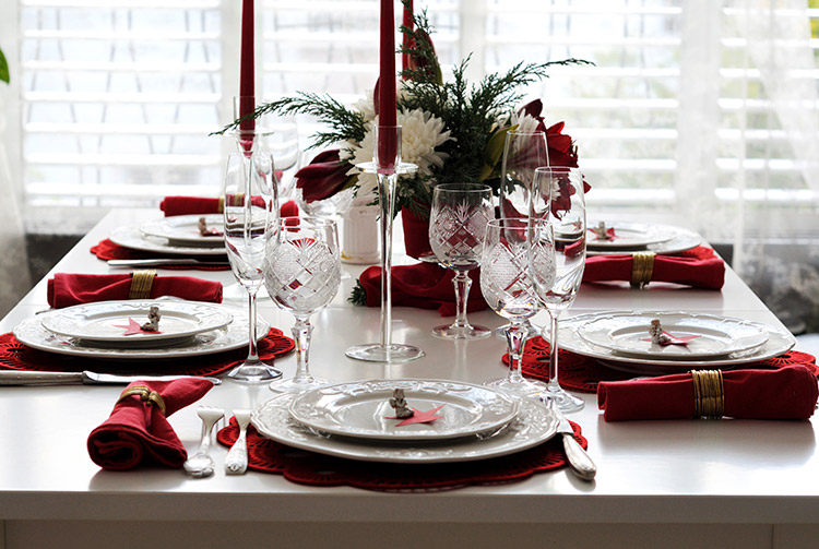How To Decorate Your Table For Christmas Dinner Wren