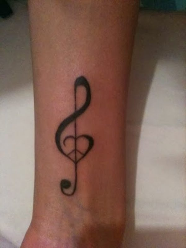 Heart And Infinity Symbol With Feather