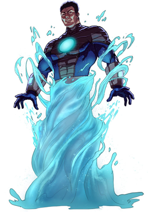 Hydro Man Marvel Comics Spider Man Enemy Character
