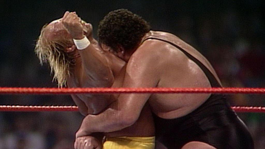 Hulk Hogan Giant Vs