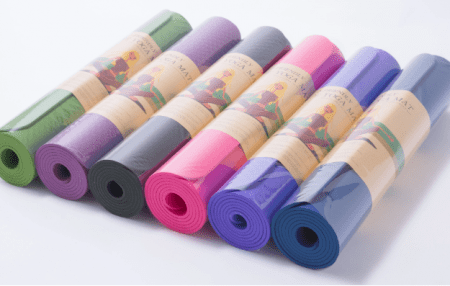 Customized Printed Eco friendly TPE Yoga Mat