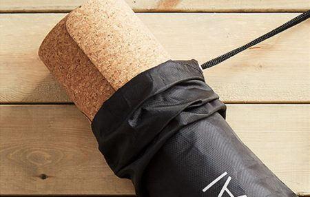 Yoga Mat Cork Rubber Wood Water-proof Comfortable Protective