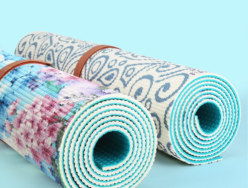 Yoga Mat PVC Anti-slip Washable Soft Pilates Meditation
