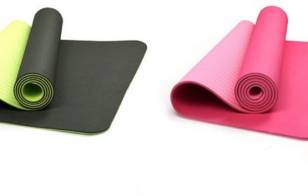 Yoga Mat TPE Soft Thick Anti-slip Double Color Customized