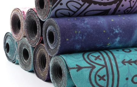 Yoga Mat Suede Decorative Pattern Low Price Hot Sale