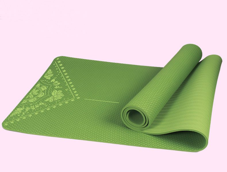 Yoga Mat TPE Eco Friendly Anti-slip Hot Selling