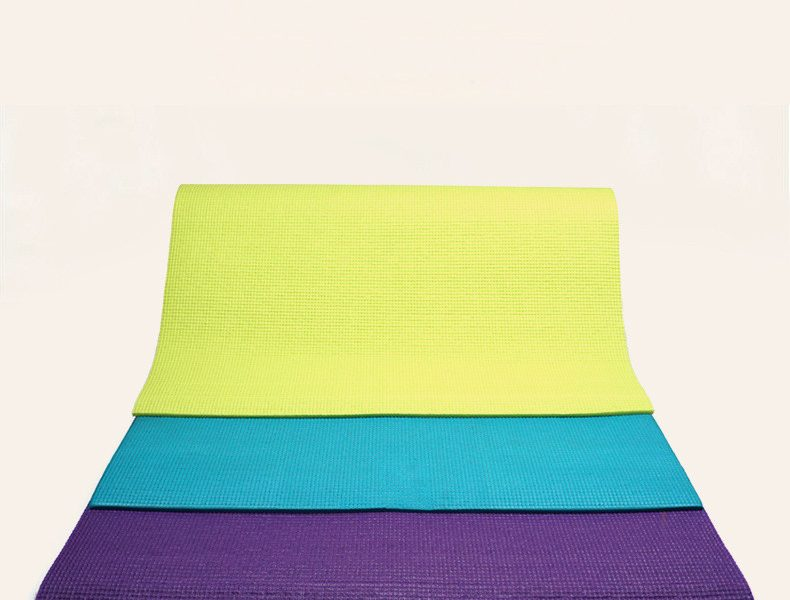 Yoga Mat TPE Non Slip High Density Exercise Gym Yoga
