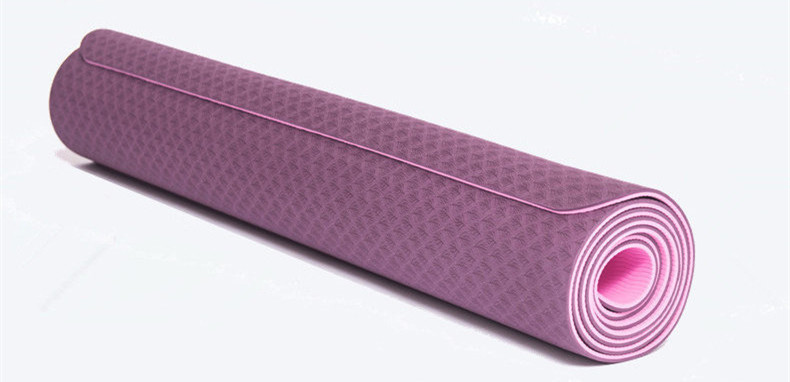 Yoga Mat TPE Thick Durable Anti-tear Non Slip No Toxic