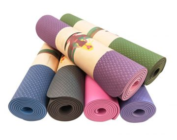 Yoga Mat TPE Best Quality Anti-slip Customized Size