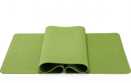 Yoga Mat TPE Odorless Non-slip Pure Color Durable