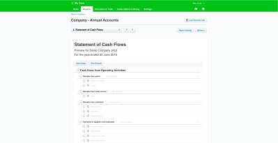 Statement of Cash Flows now available in NZ, AU and ROW ...