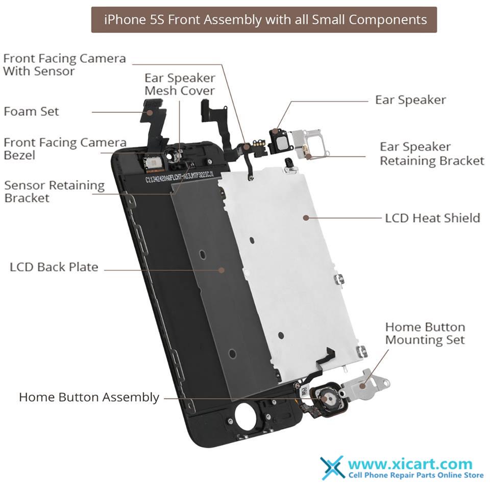 Iphone 4 Screen Repair Diagram
