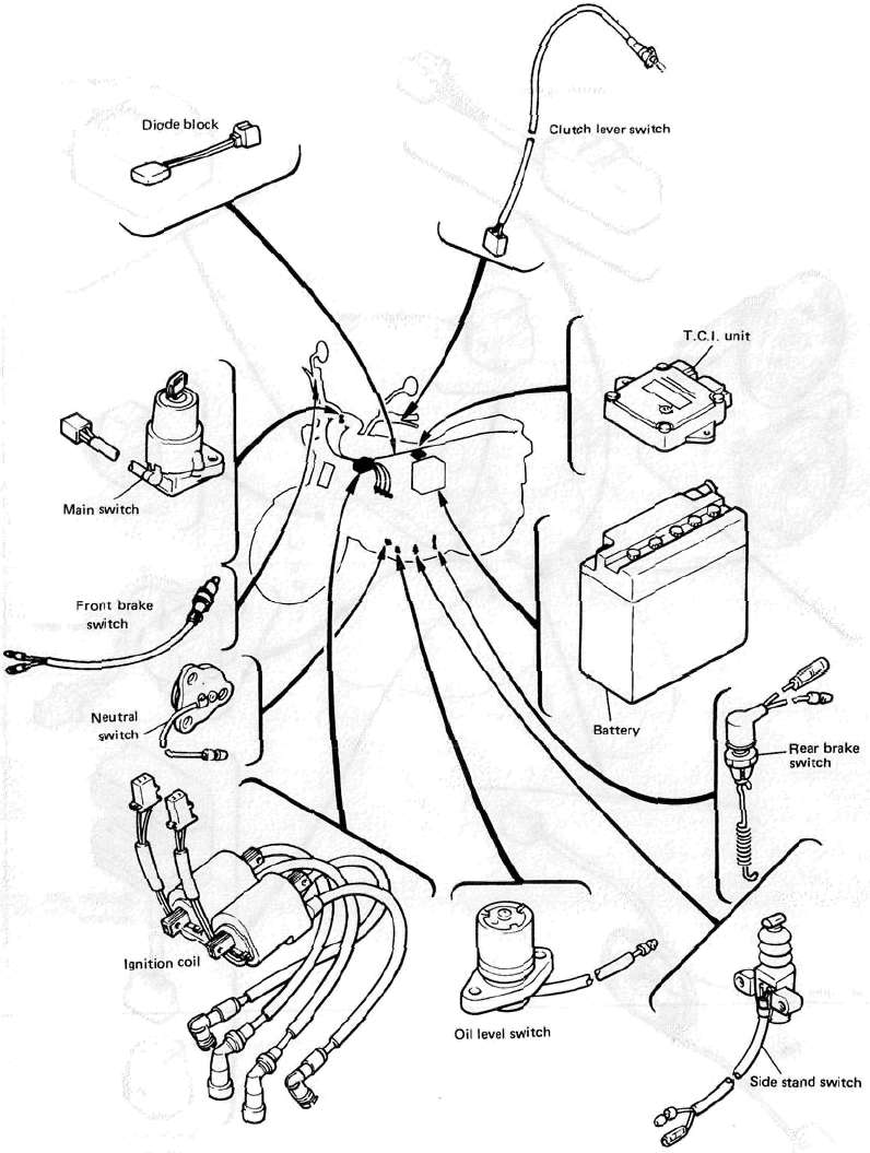 Electrical ponent locations and wiring diagram