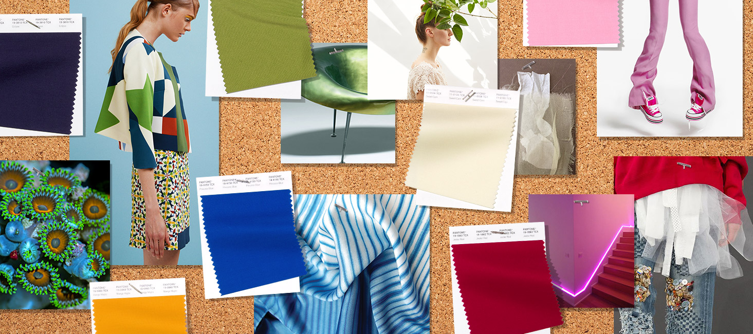 Spring Summer Update The Influence Of Pantone Colors X