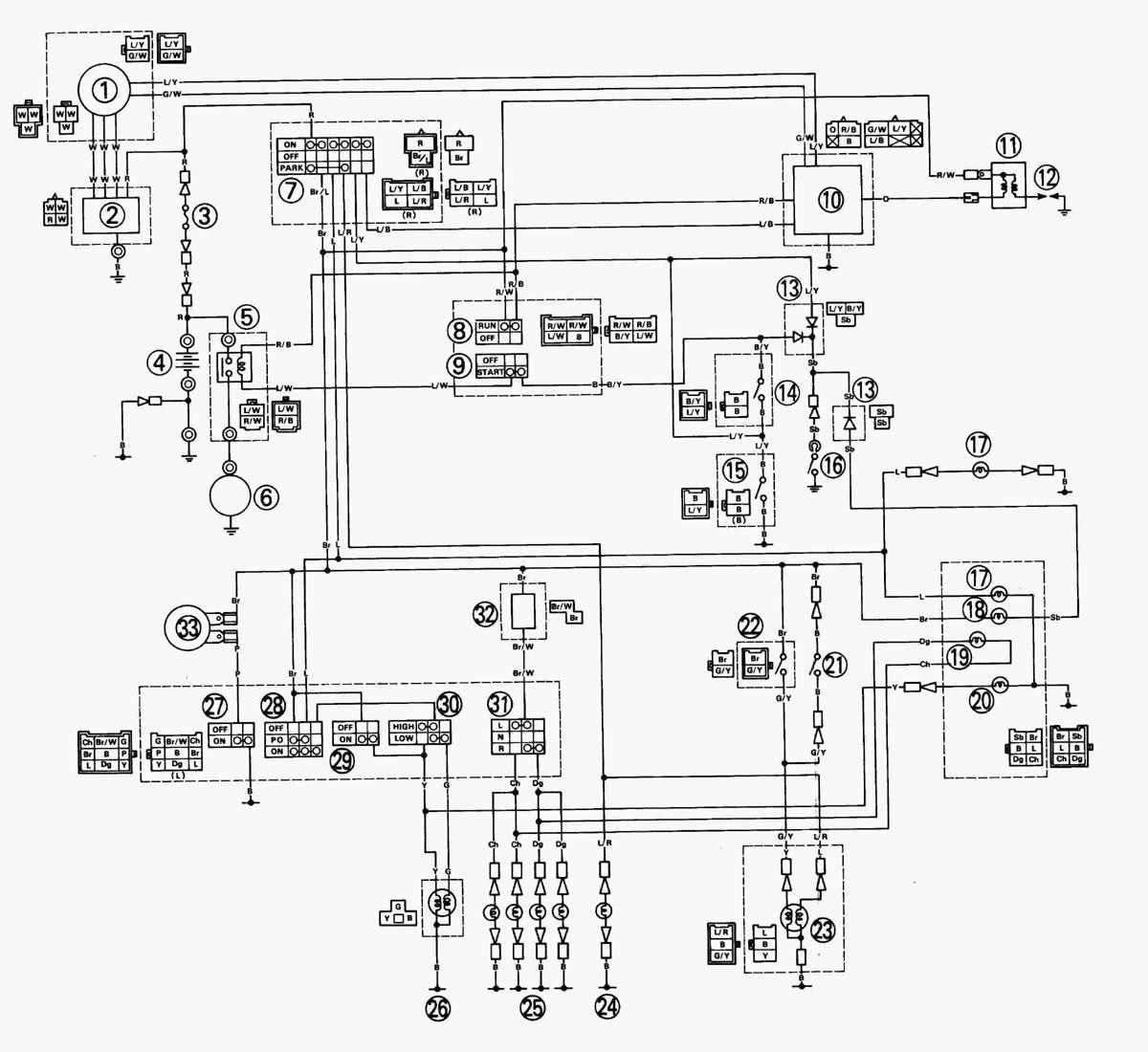Xt 600 wiring diagram free download wiring diagrams