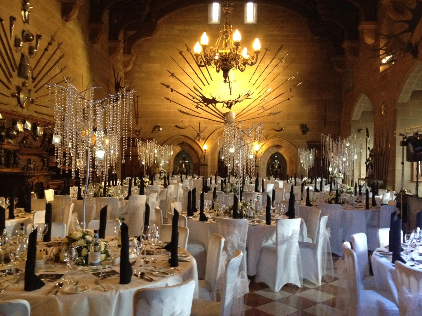 6 Venues For A Winter Wonderland Wedding Yahire Furniture Hire Blog