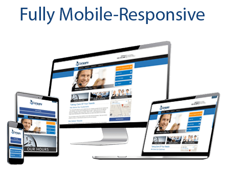 fully mobile responsive
