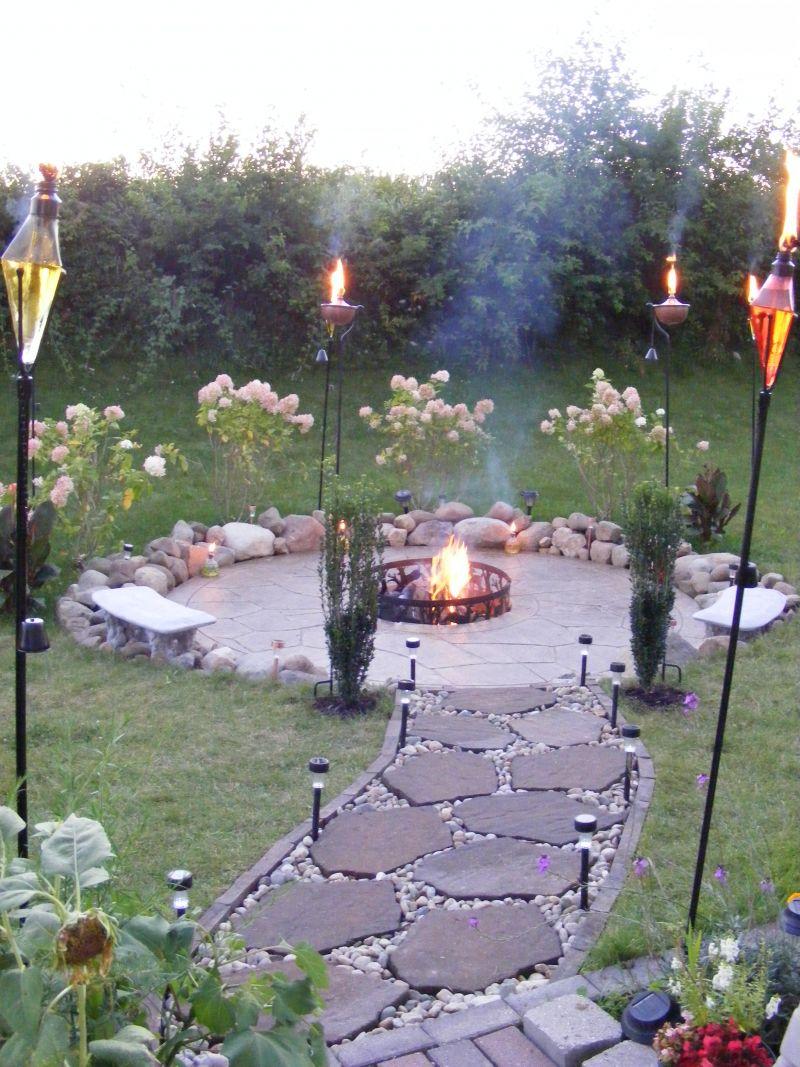 Create Your Own Backyard Firepit Yard Ideas Blog