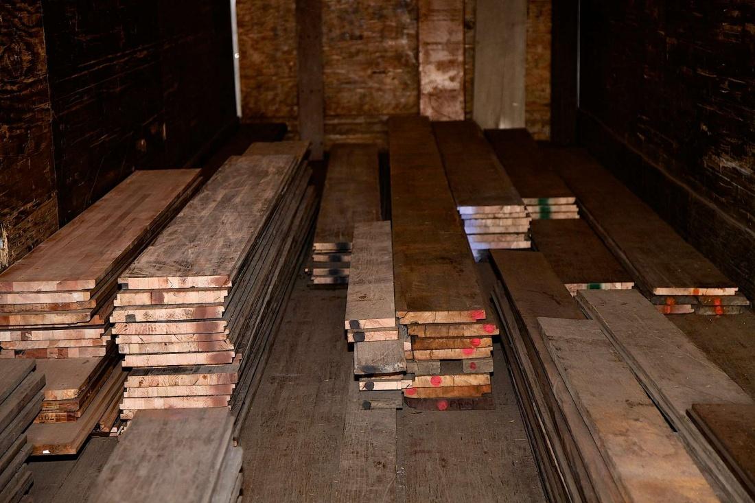 Wood Flooring Semi Trailers