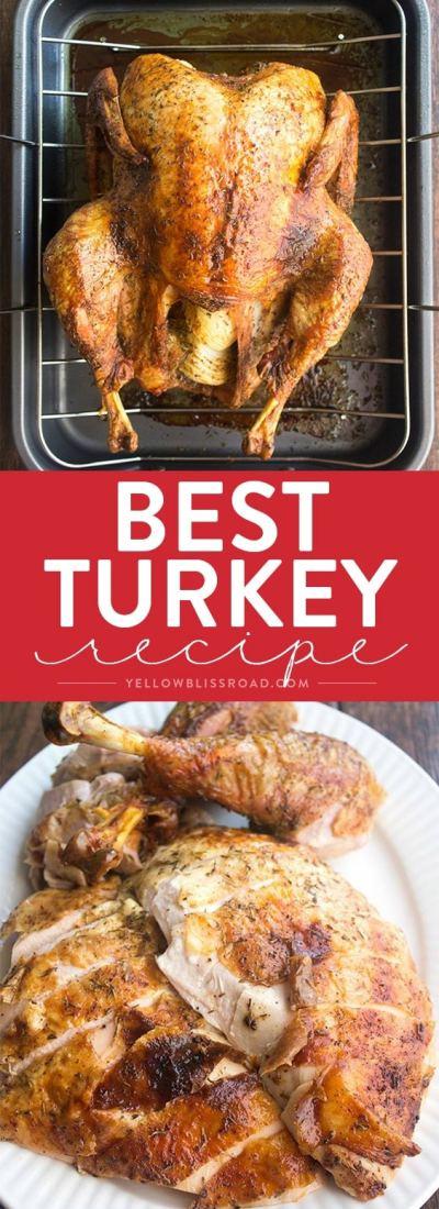 Best Thanksgiving Turkey Recipe (How to Cook a Turkey)