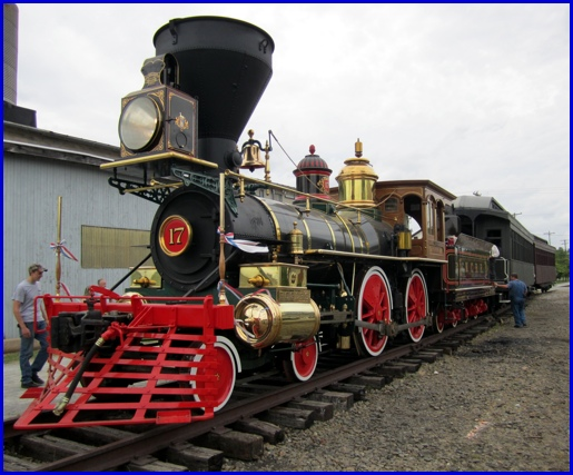 Why is the Steam Into History locomotive named York #17 ...