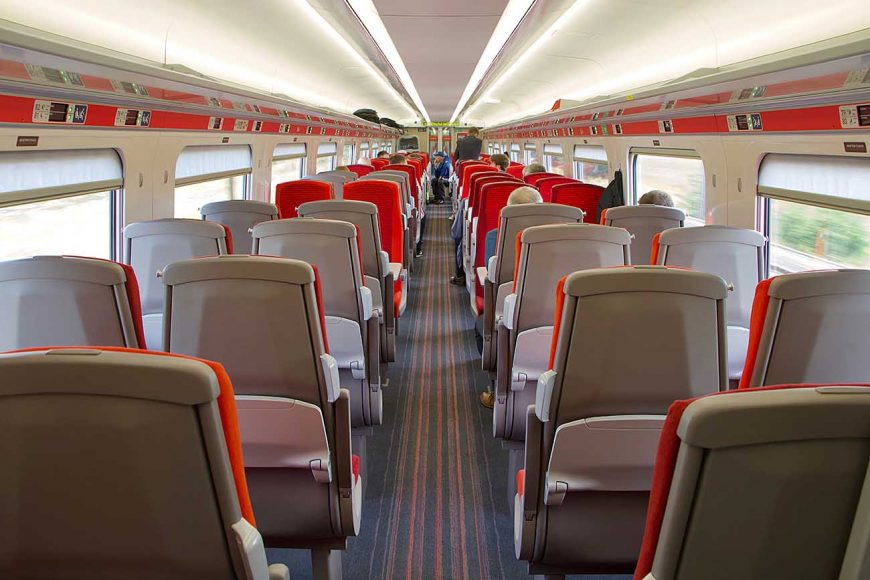 Video Inside The New Azuma Train As It Meets Loco