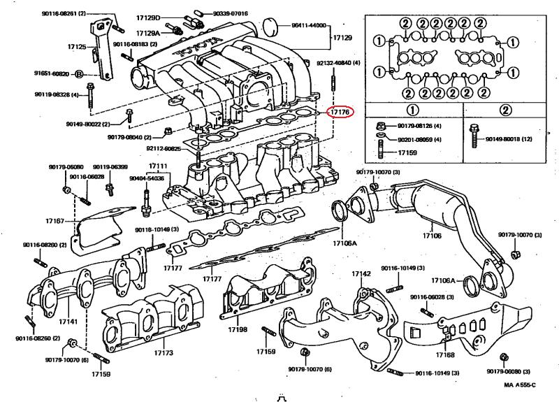 Toyota 3vze Diagram 1990 Vacuum