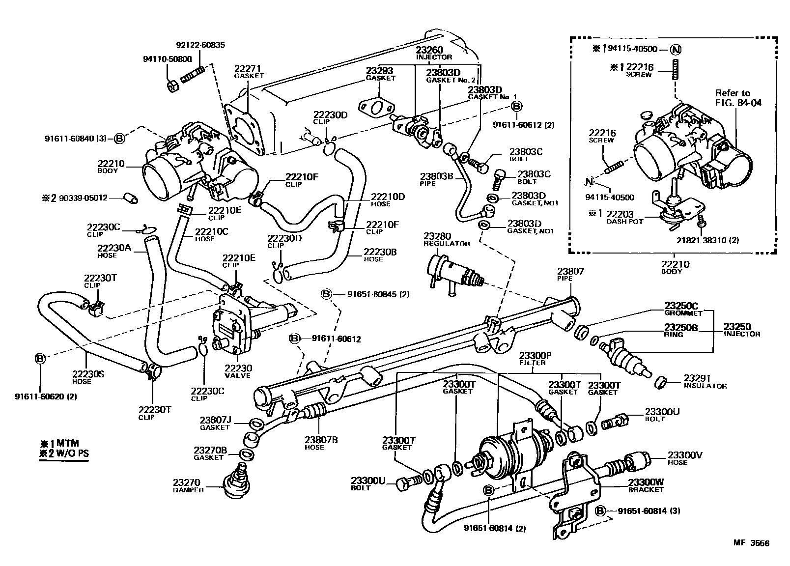 1996 Toyota Camry Suspension Diagrams Diagram