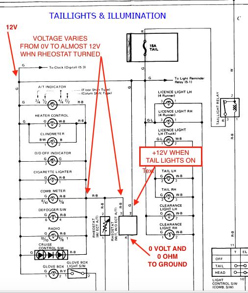 99 4runner Light Diagram
