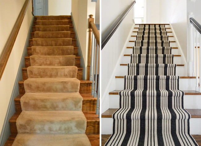 How To Install A Stair Runner Yourself Young House Love   Cost To Re Carpet Stairs   Wood Flooring   Square Foot   Laminate Flooring   Hardwood Stairs   Rug