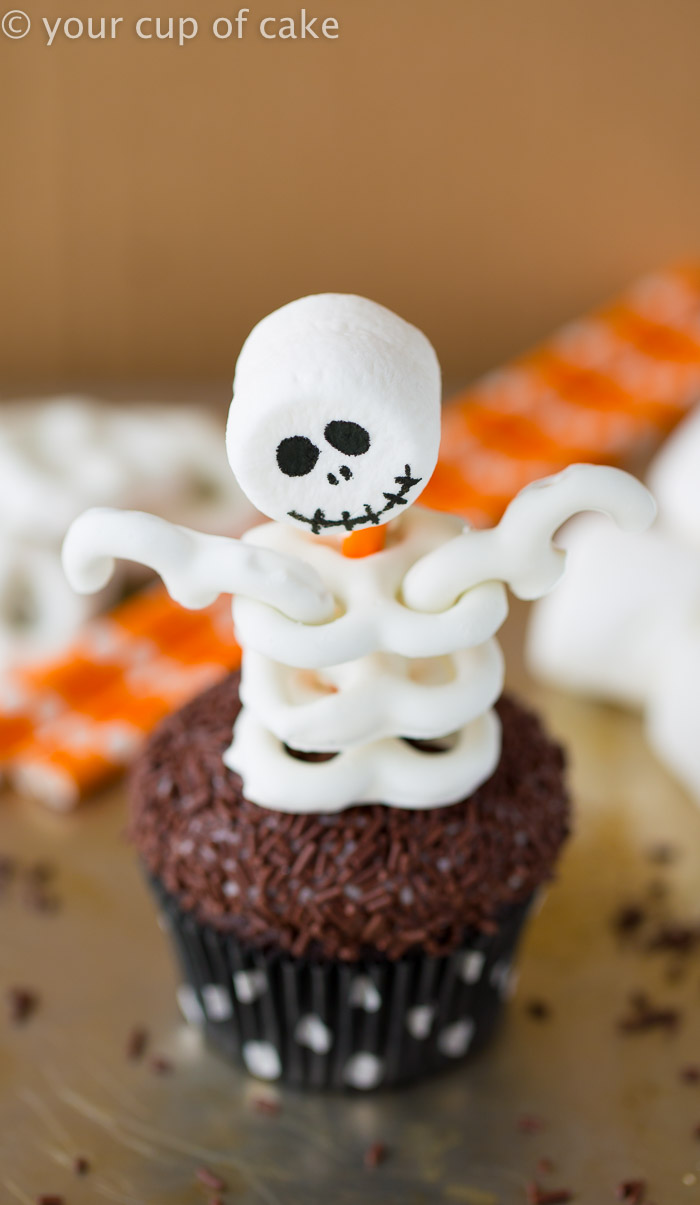 Skeleton Cupcakes Your Cup Of Cake