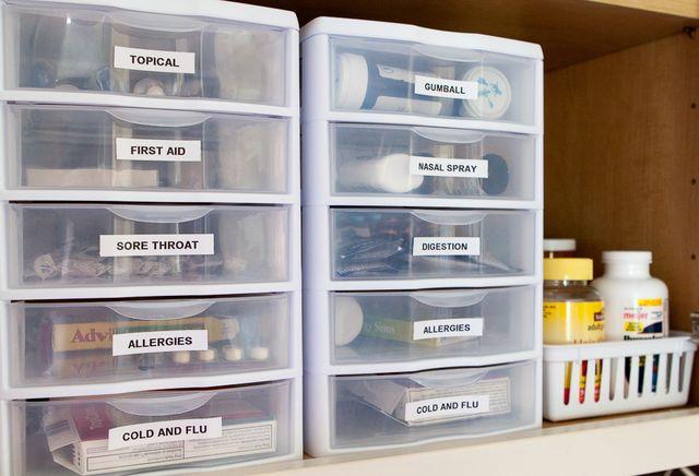 Vertical Pill Organizer