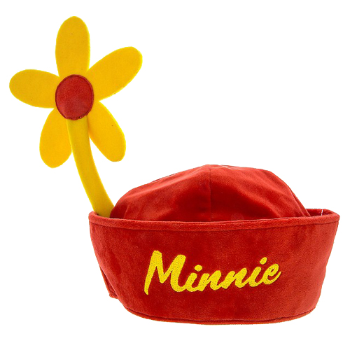 Your Wdw Store Disney Hat Classic Minnie Mouse With Flower