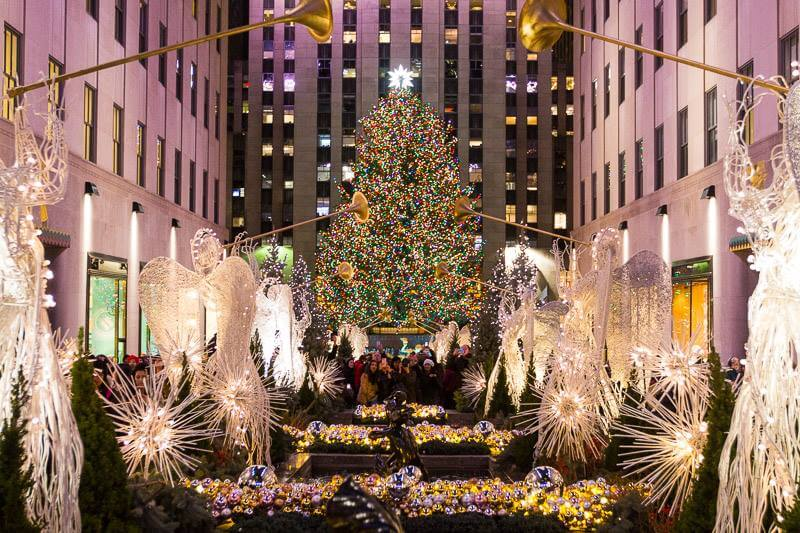 Rockefeller Center Tree Lighting 2017